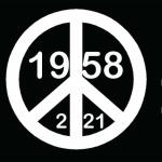 My original design demonstrates that on 2/21/1958, both the graphic design symbol for N. D. was created, and I was born. Used what is now referred to as the peace symbol. An Andrew Lerner Graphic Design
