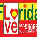 An original design by Andrew Lerner. Logo design for Florida Designed by Andrew Lerner to represent Florida, U.S.A. while superimposing and integrating the word love with the word Florida. Purchase w/o my names here http://www.cafepress.com/Love_Florida