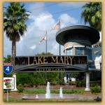 Montage of Lake Mary pictures. An Andrew Lerner Graphic Design
